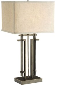 Black Rectangle Table Lamp from Coaster (901654) | Coleman ...