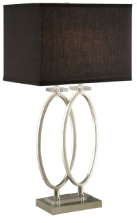 Brushed Nickel Table Lamp from Coaster (901662) | Coleman ...