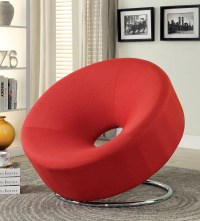 902252 Red Donut Shape Chair from Coaster (902252 ...