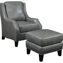Accent Chairs With Ottoman Peg Perego Pink High Chair Grey Bonded Leather From Coaster