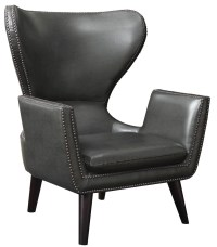 High Back Leatherette Accent Chair from Coaster (902409