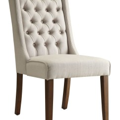2 Accent Chairs Fabric Side With Arms 902502 Beige Chair From Coaster Coleman