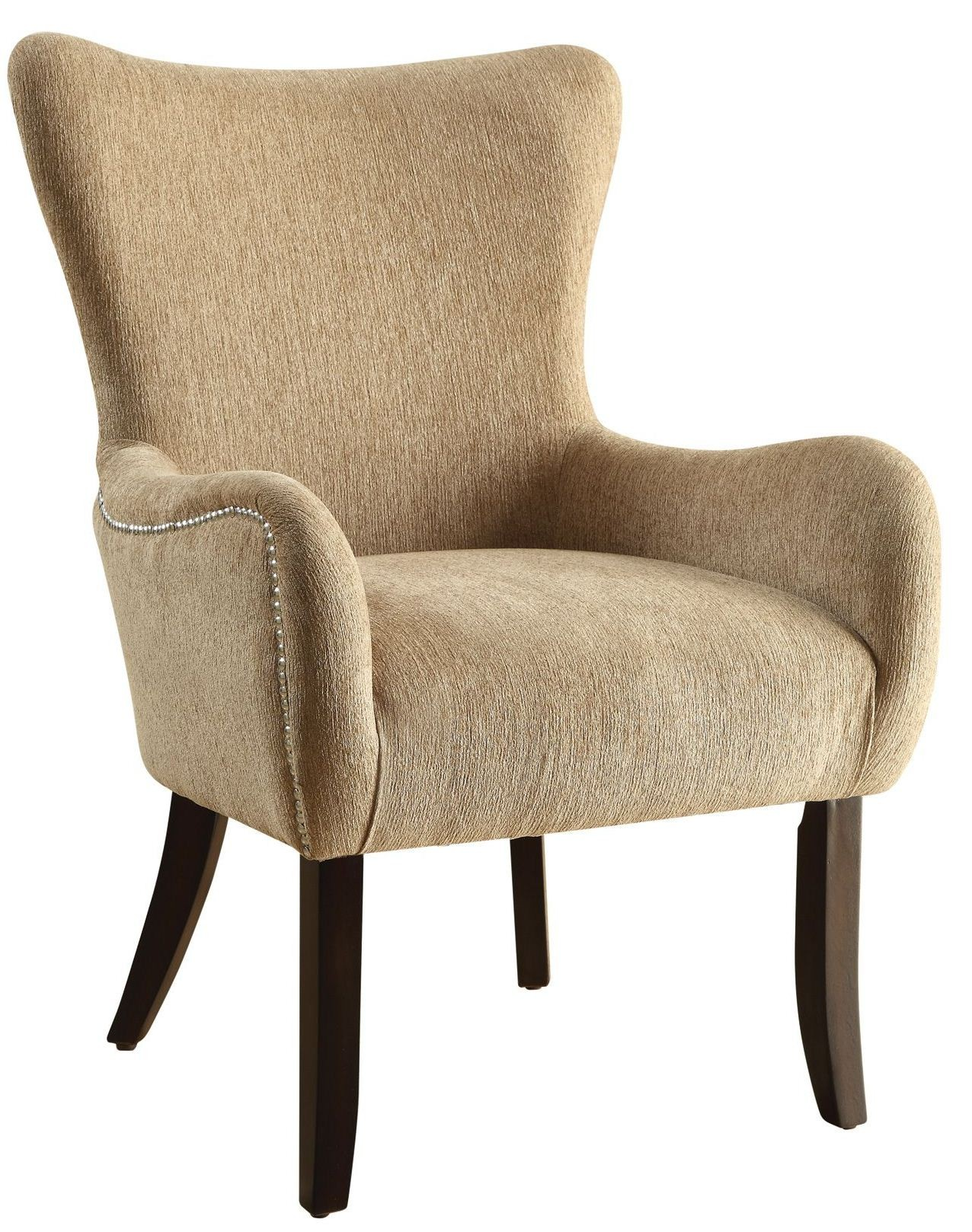 brown accent chairs folding chair parts 902503 from coaster coleman