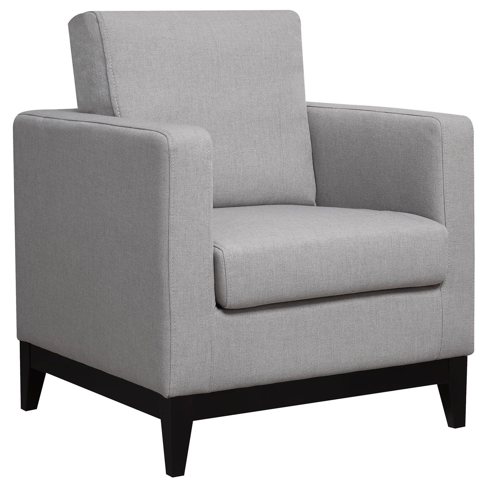Light Gray Accent Chairs Light Grey Accent Chair From Coaster 902608 Coleman