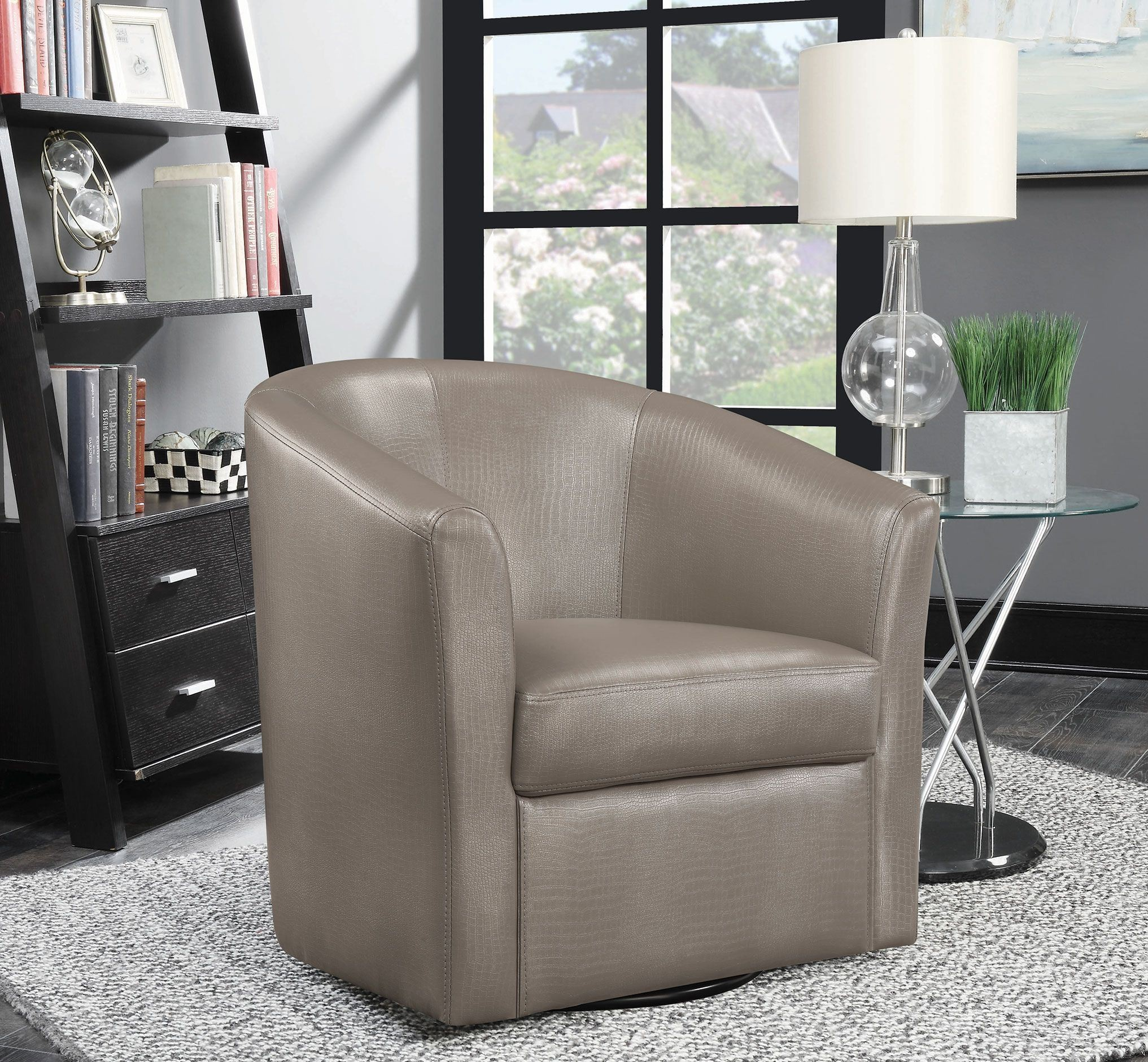 Champagne Chair Champagne Accent Chair 902726 Coaster Furniture