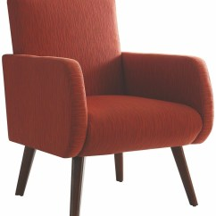 Accent Chair Orange Design Description 902782 Coaster Furniture