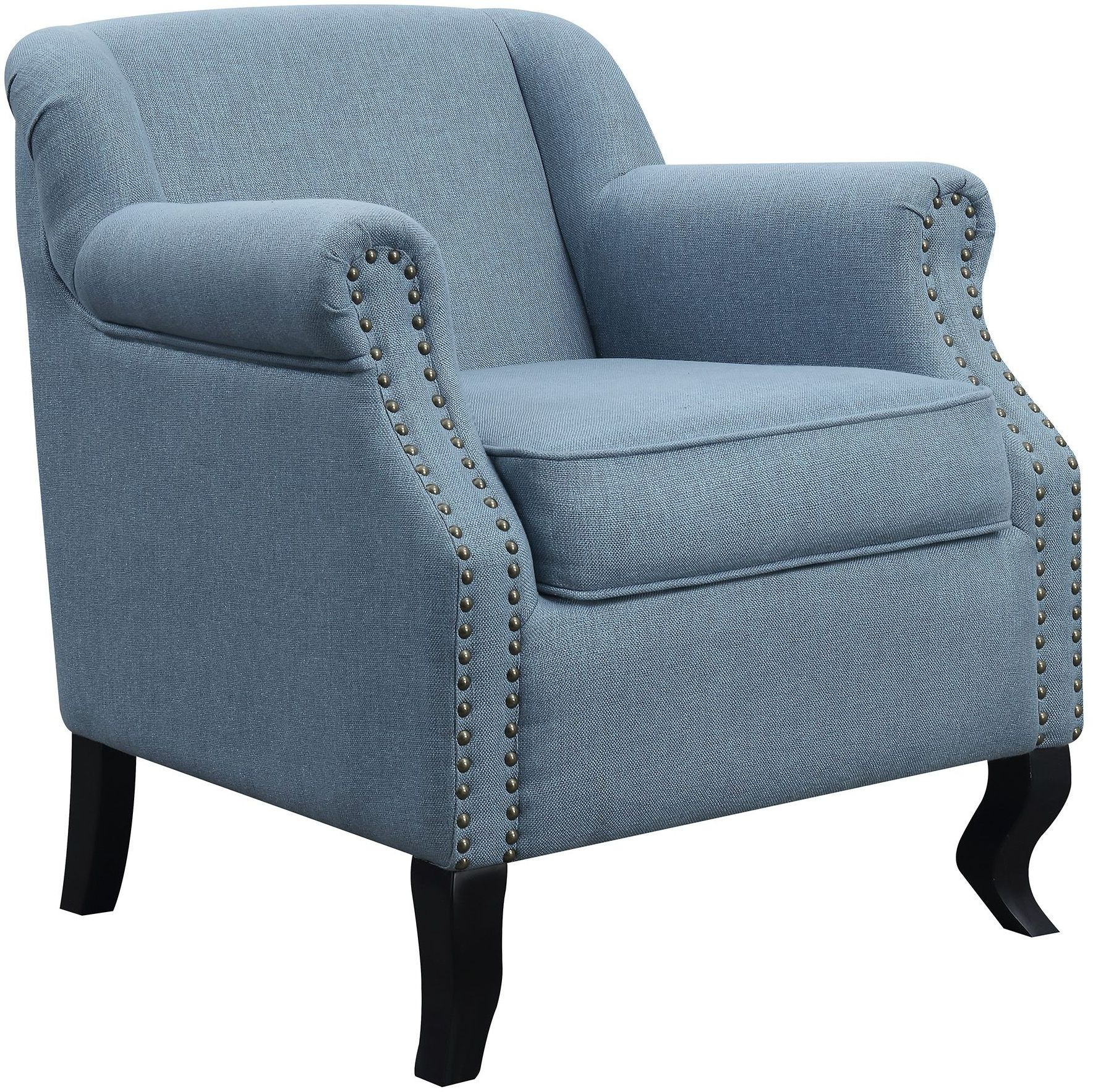Accent Chair Blue Light Blue Accent Chair From Coaster Coleman Furniture