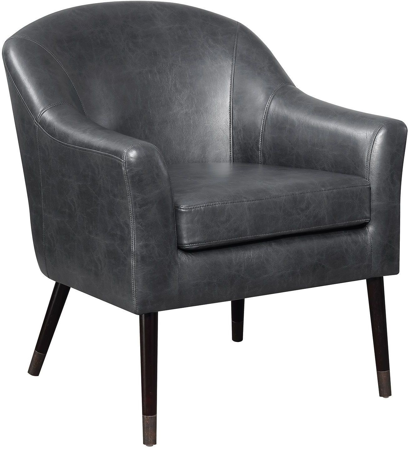 black accent chair folding chairs in spanish by scott living from coaster coleman