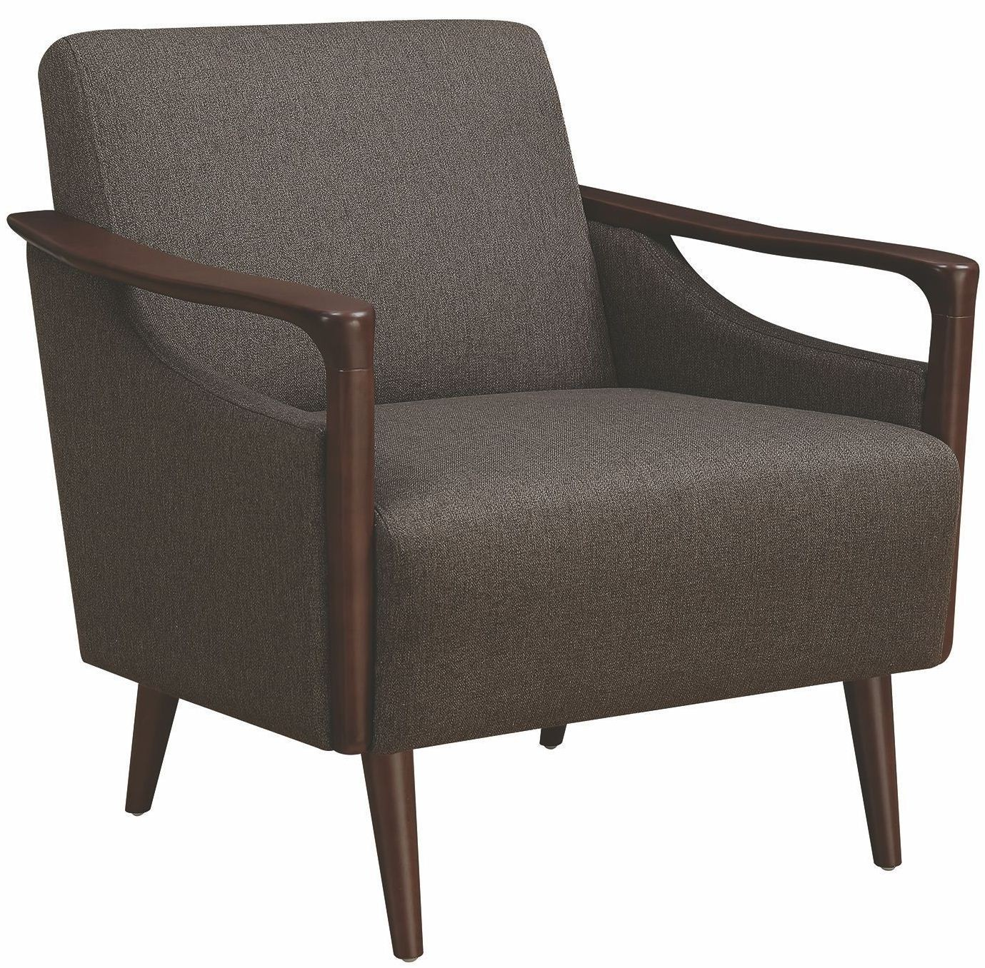 Brown Accent Chair by Scott Living from Coaster  Coleman