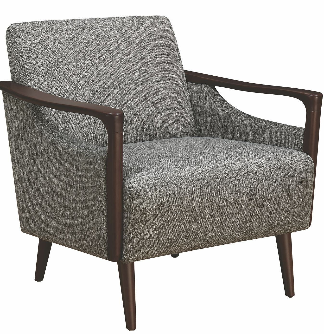 Gray Accent Chair by Scott Living from Coaster  Coleman