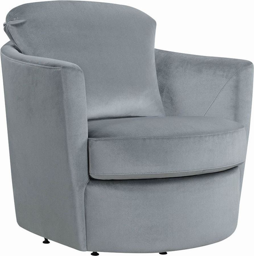 Gray Swivel Accent Chair from Coaster  Coleman Furniture