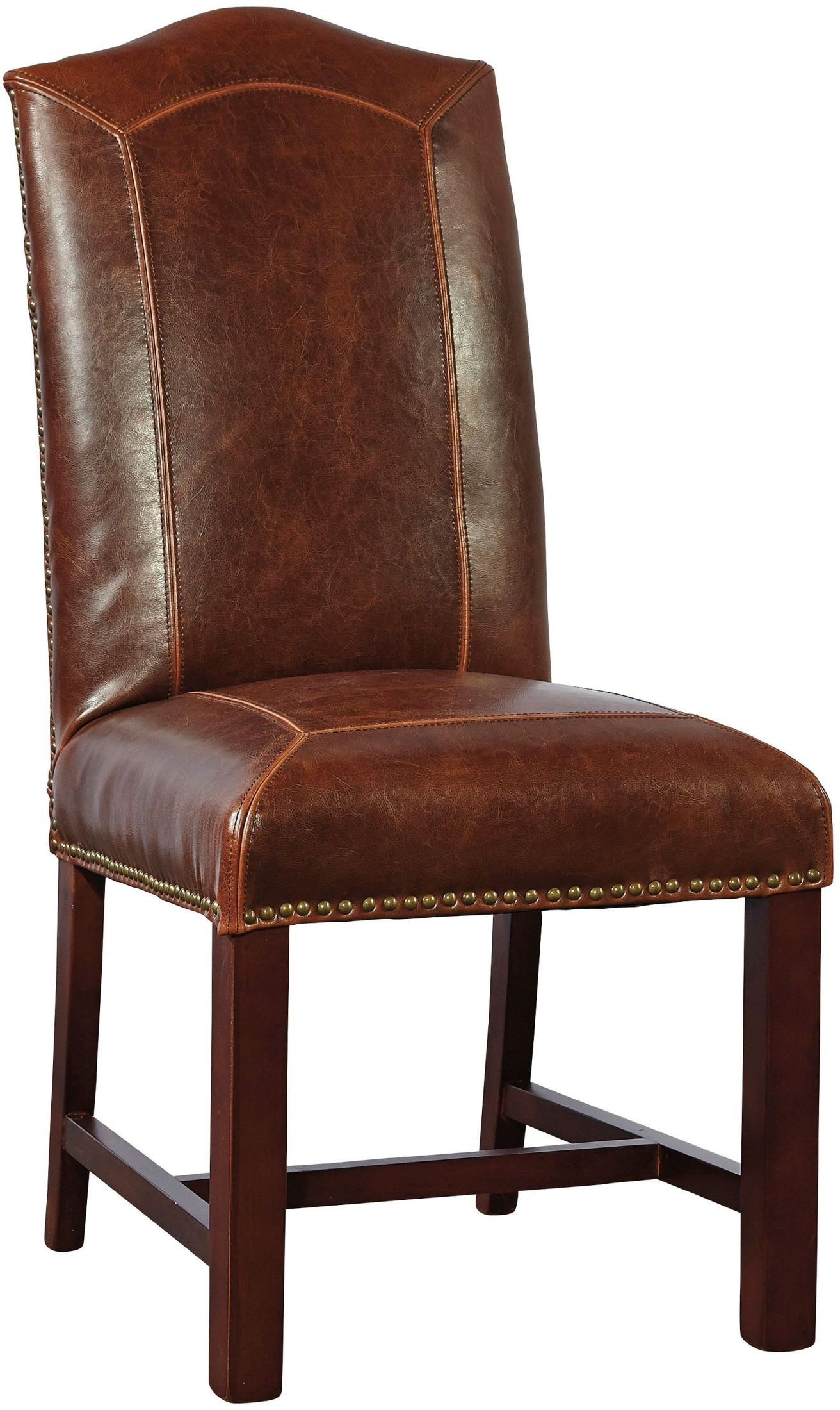 baseball desk chair power chairs covered by medicare blake brown leather dining set of 2 from furniture