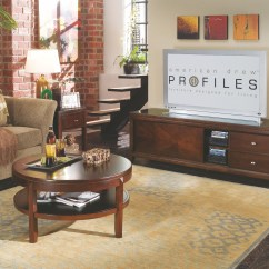 American Drew Tribecca Sofa Table Replica Sofas Root Beer From 912 925