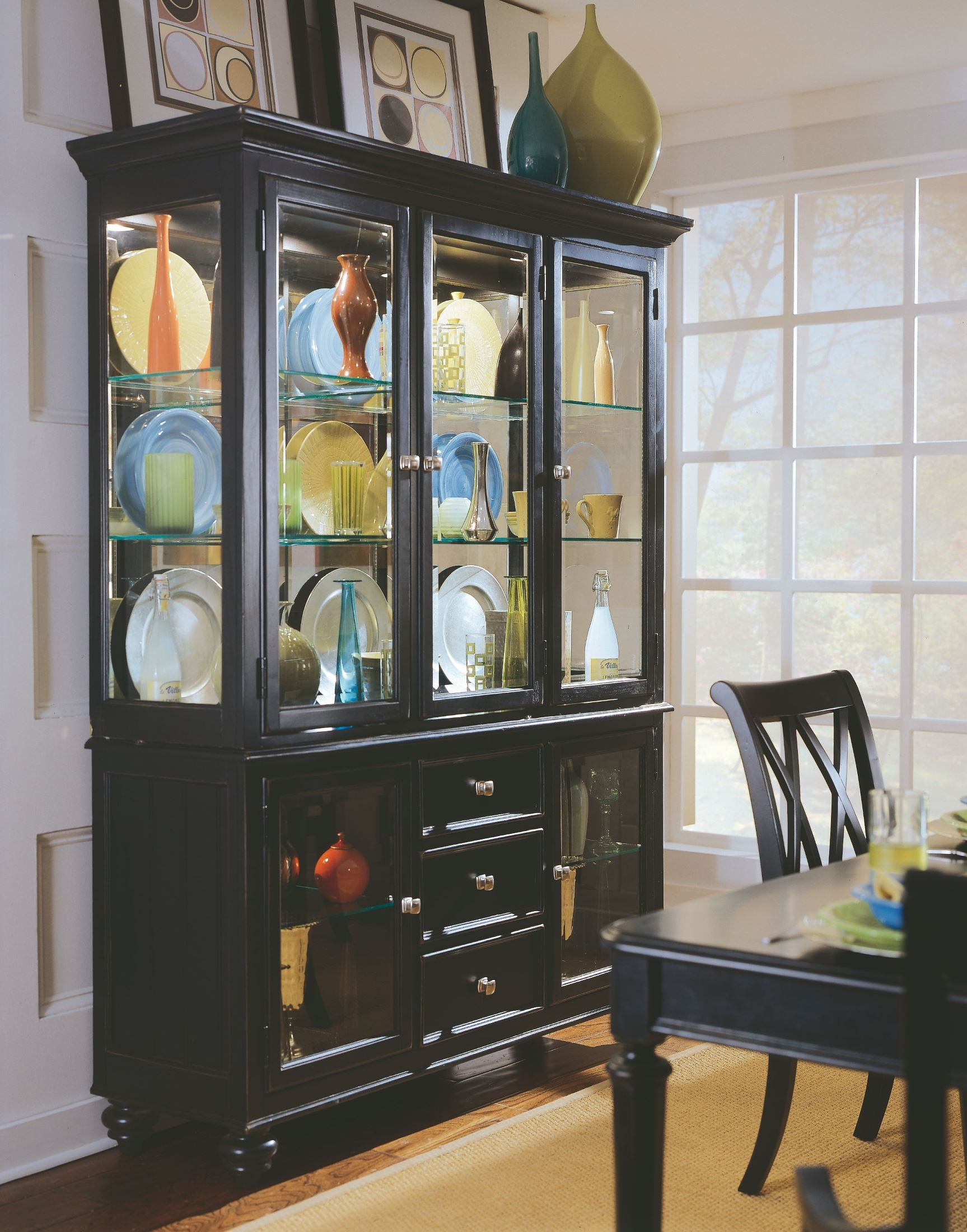 Camden Black China Cabinet From American Drew 919 830R