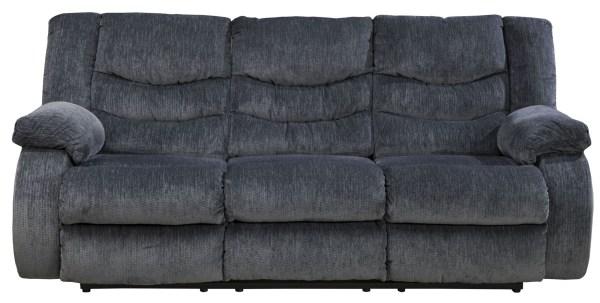 Garek Blue Reclining Sofa Ashley 9200188 Coleman