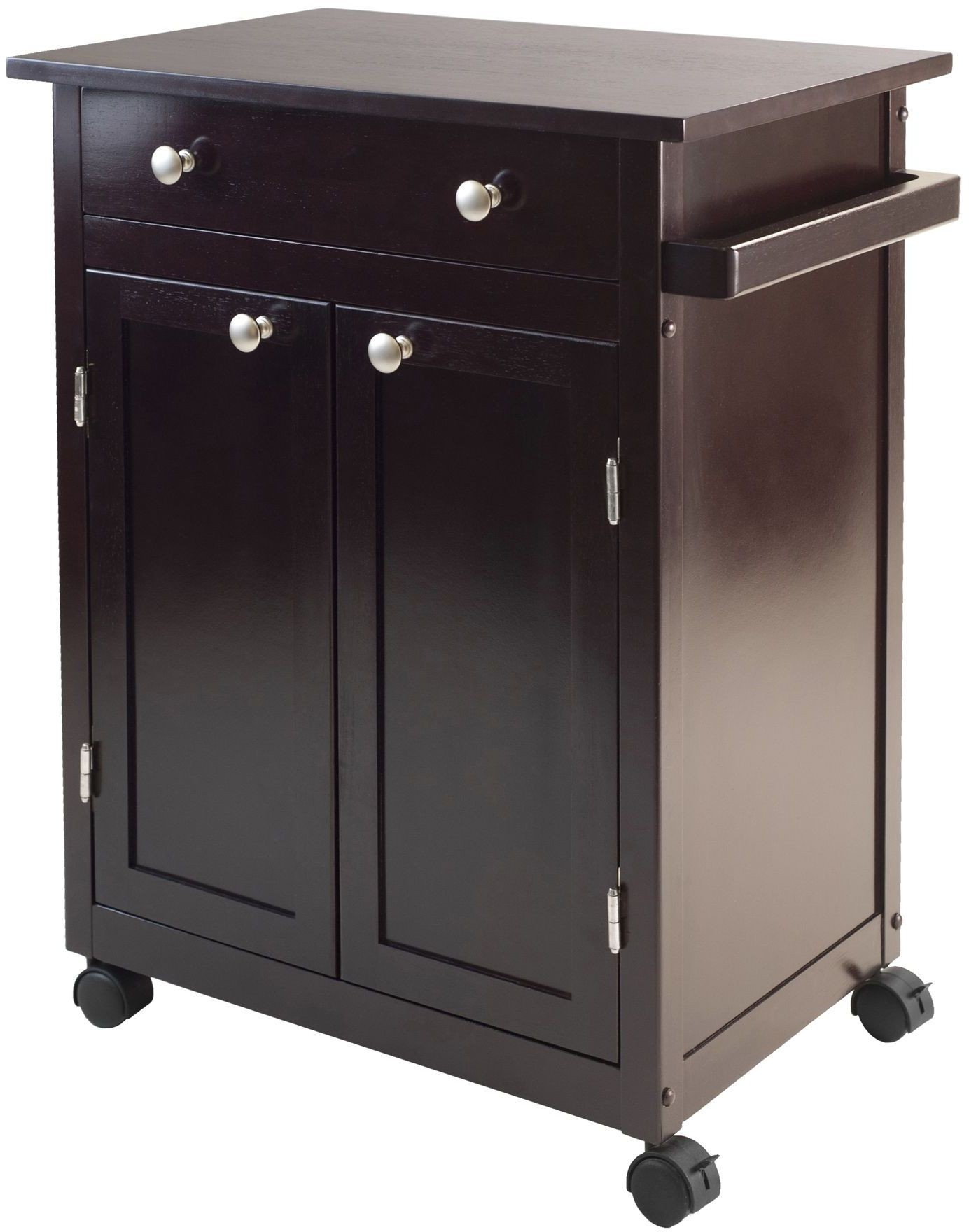 kitchen coffee cart rubbed bronze faucet savannah espresso from winsomewood coleman