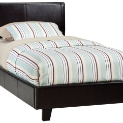Sofa Cleaning Nyc Cost Manufactures New York Black Twin Upholstered Bed From Standard