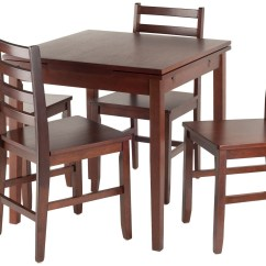Card Tables And Chairs At Target Purple Chair Cushions Pulman 5 Piece Extendable Dining Set From Winsomewood