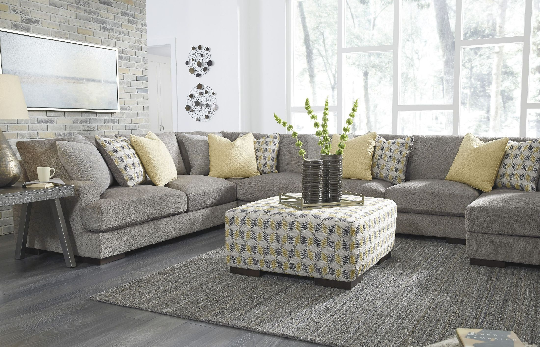 Fallsworth Smoke RAF Large Sectional From Ashley Coleman