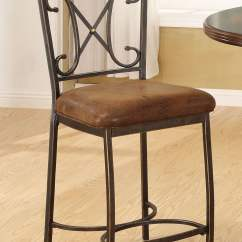 Counter Height Chairs With Back Rolling Kitchen Tavio Wood Chair Set Of 2 From Acme
