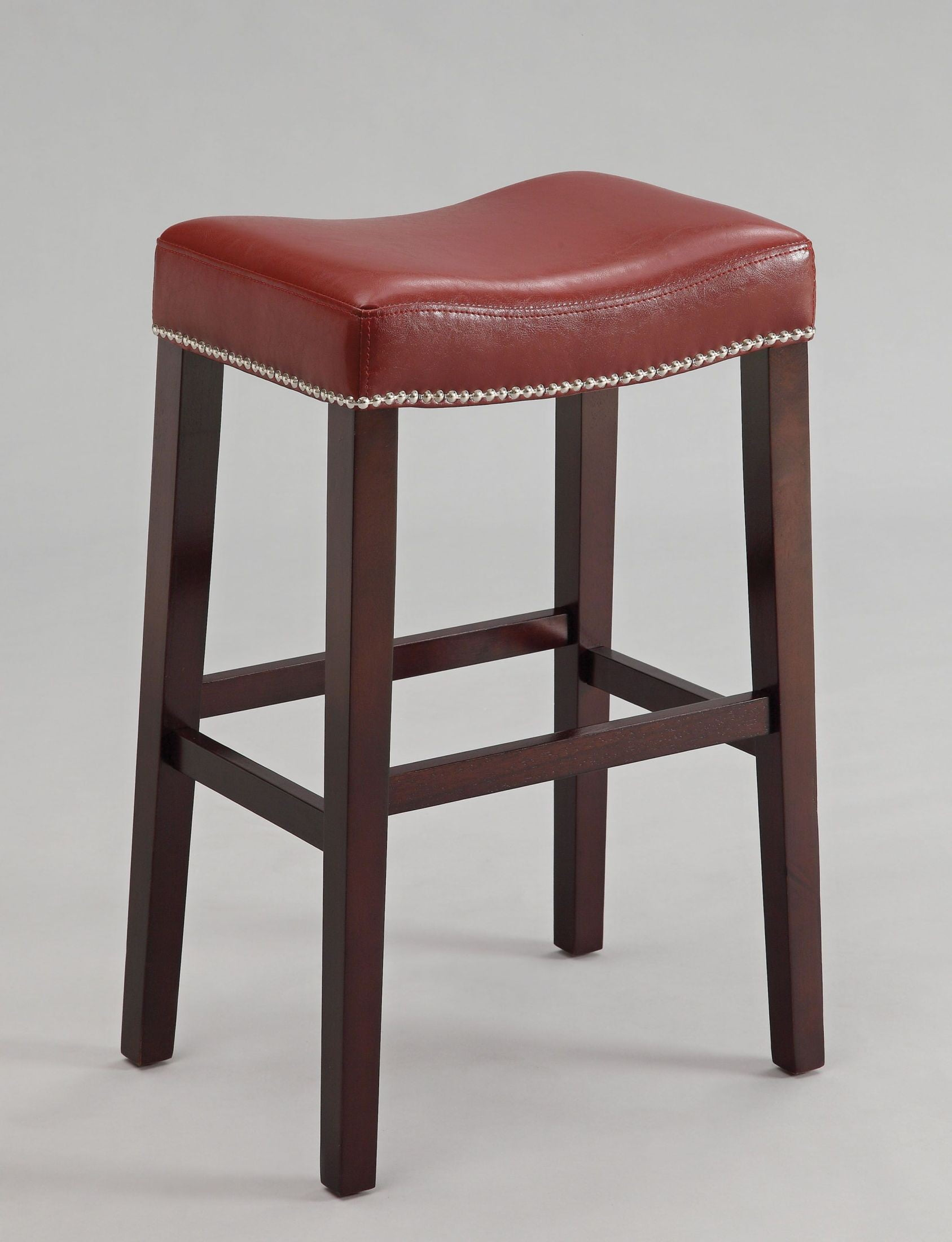 Red Counter Height Chairs Lewis Red Counter Height Stool Set Of 2 From Acme