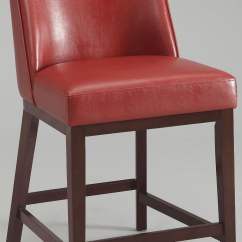 Red Counter Height Dining Chairs Executive Chair Car Valor Set Of 2 From Acme