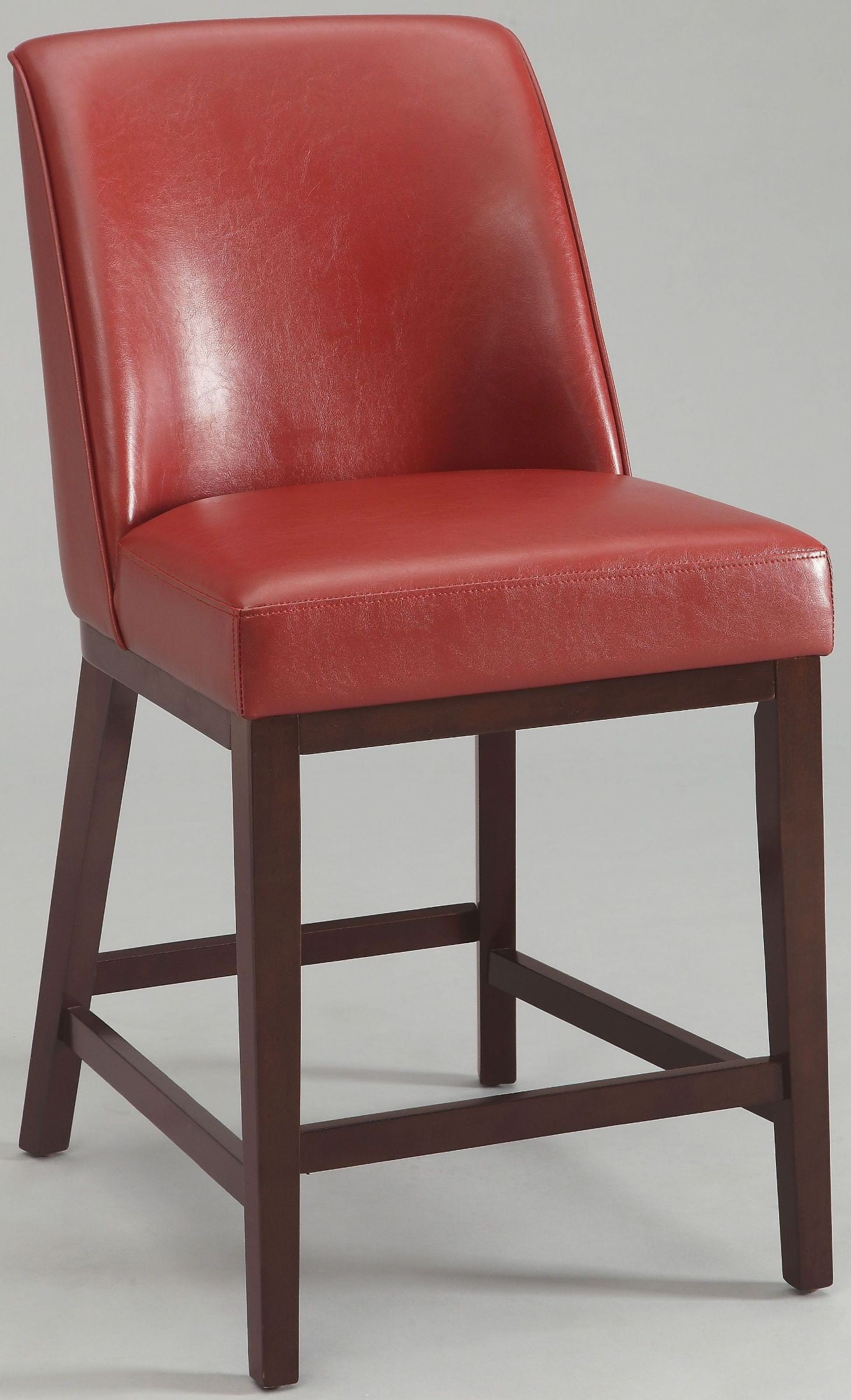 Red Counter Height Chairs Valor Red Counter Height Chair Set Of 2 From Acme