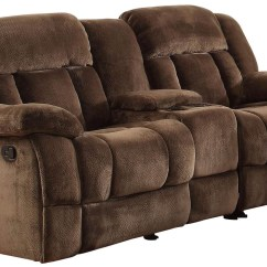 Glider Sofas European Style Sofa Bed Toronto Laurelton Chocolate Double Reclining Loveseat With