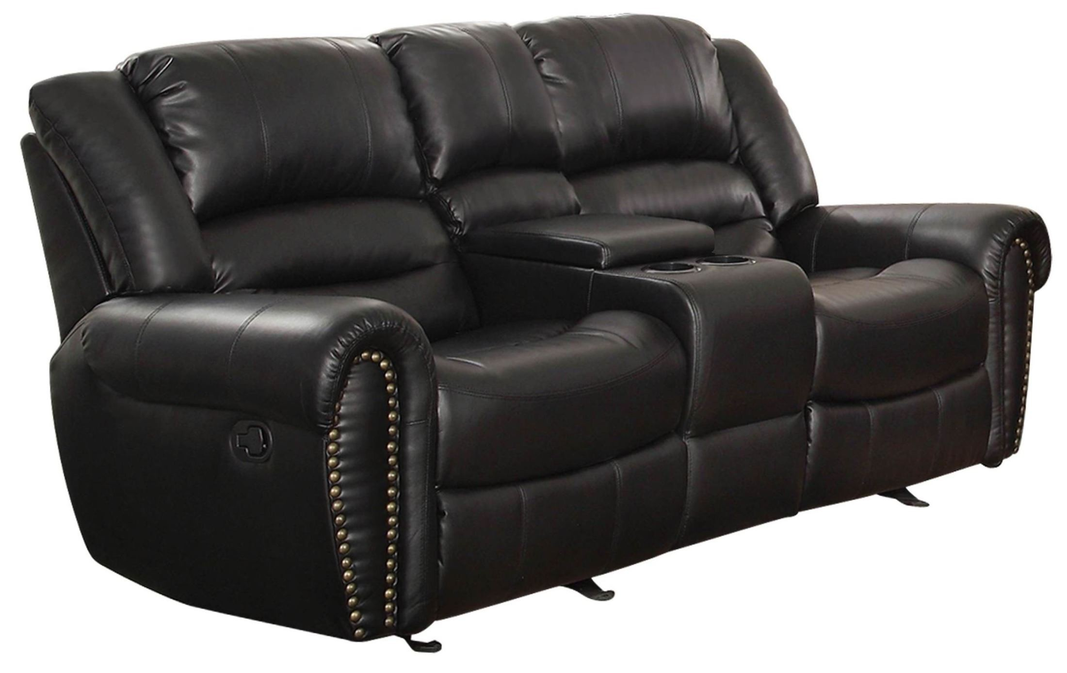 recliner sofa set 3 2 1 sac cork center hill black double reclining living room from