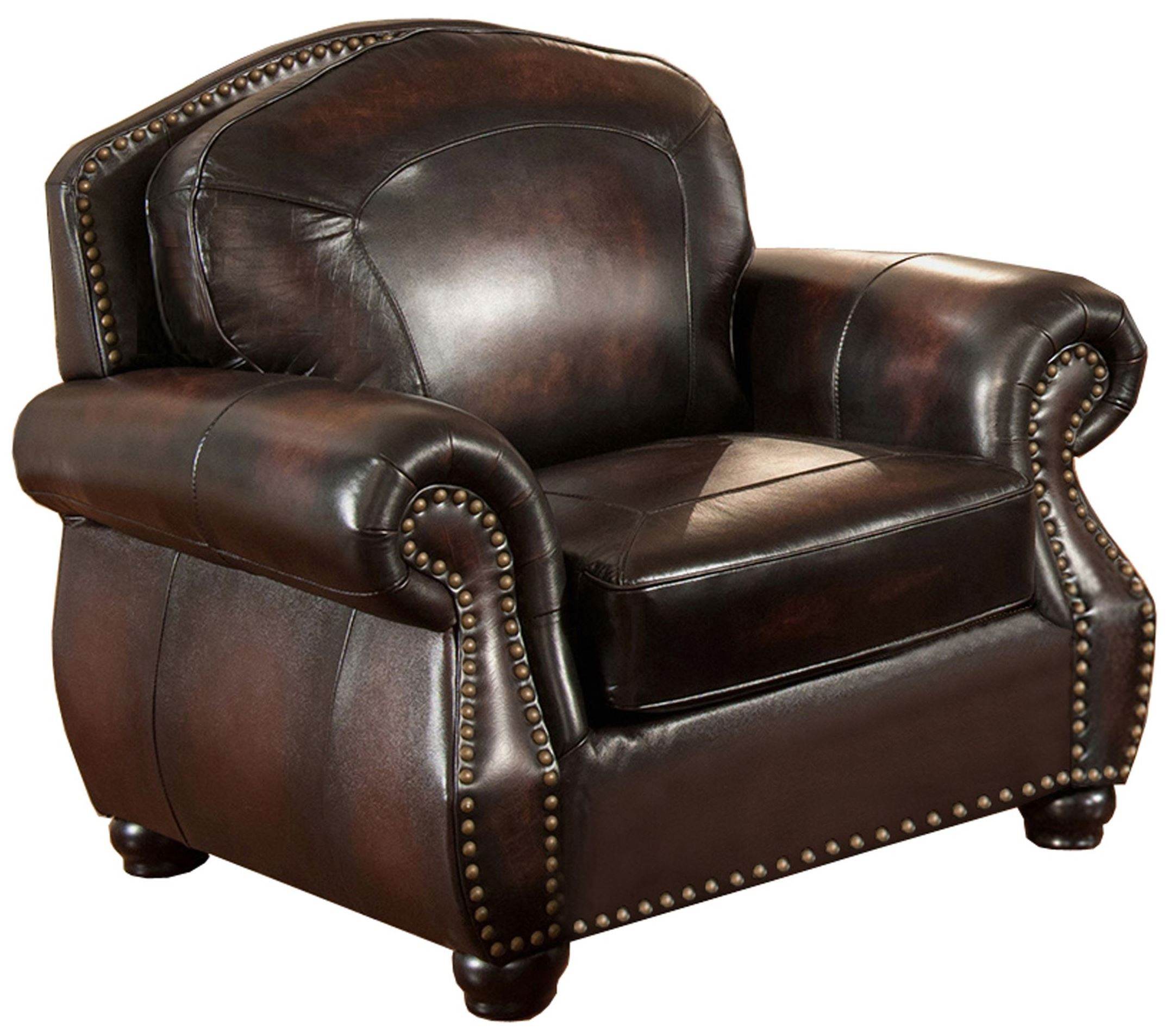 Leather Arm Chairs Hyde Brown Leather Armchair C9701c2889ls Amax Leather