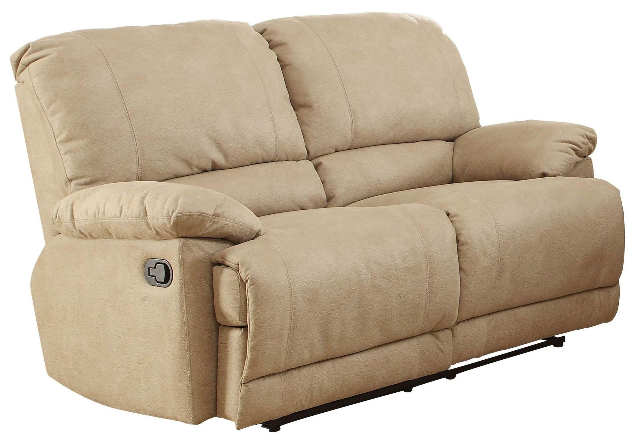 double recliner sofa cover trundle elsie reclining loveseat 9713nf 2 homelegance