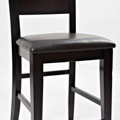 Bar Stool Chair Rung Protectors Hunting Blind Dark Rustic Prairie One Ladderback Counter Set