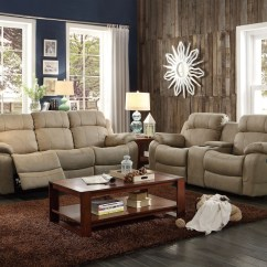Double Recliner Chairs With Cup Holders Tablecloth And Chair Cover Rentals Marille Camel Reclining Sofa Center Drop Down