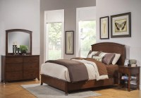 Baker Mahogany Panel Bedroom Set from Alpine | Coleman ...
