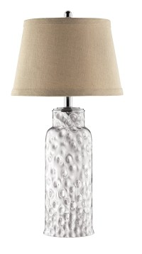 Clear Glass Jar Table Lamp from Steinworld (98340