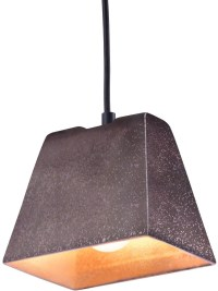 Auckland Rustic Black Ceiling Lamp from Zuo | Coleman ...