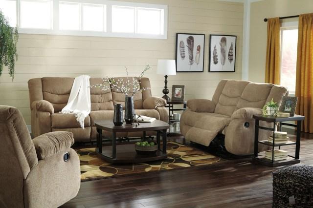 Tulen Mocha Reclining Living Room Set from Ashley ...
