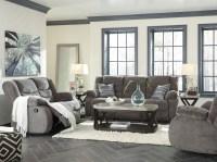 Tulen Gray Reclining Living Room Set from Ashley   Coleman ...