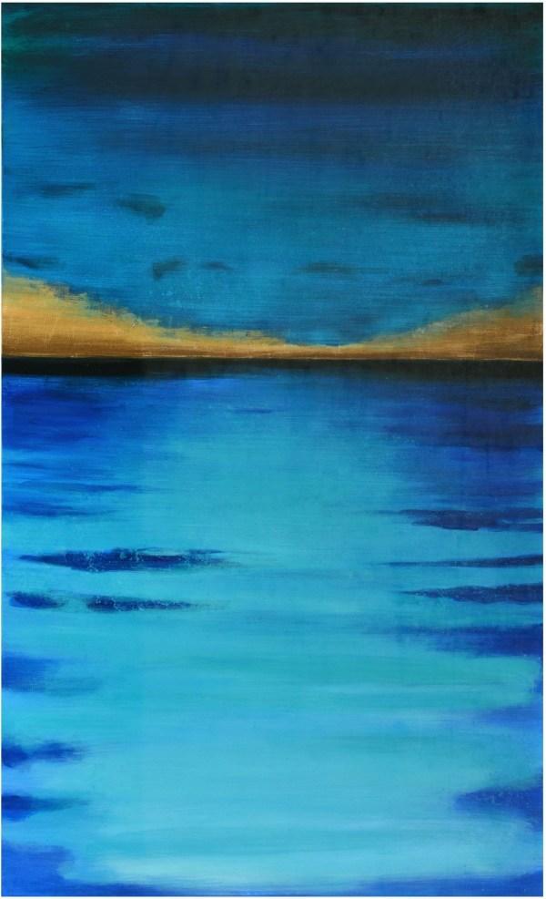 Ocean Blue Wrapped Wall Art Sunpan Coleman