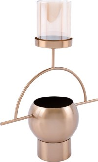 Antique Brass Candle Holder from Zuo | Coleman Furniture