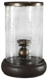 Obiareus Brown Candle Holder from Ashley | Coleman Furniture