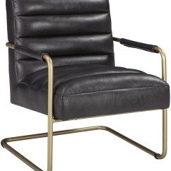 Black Accent Chair Ergonomic Uk Hackley From Ashley Coleman Furniture