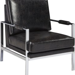 Black Accent Chair Nailhead Arm Network From Ashley Coleman Furniture