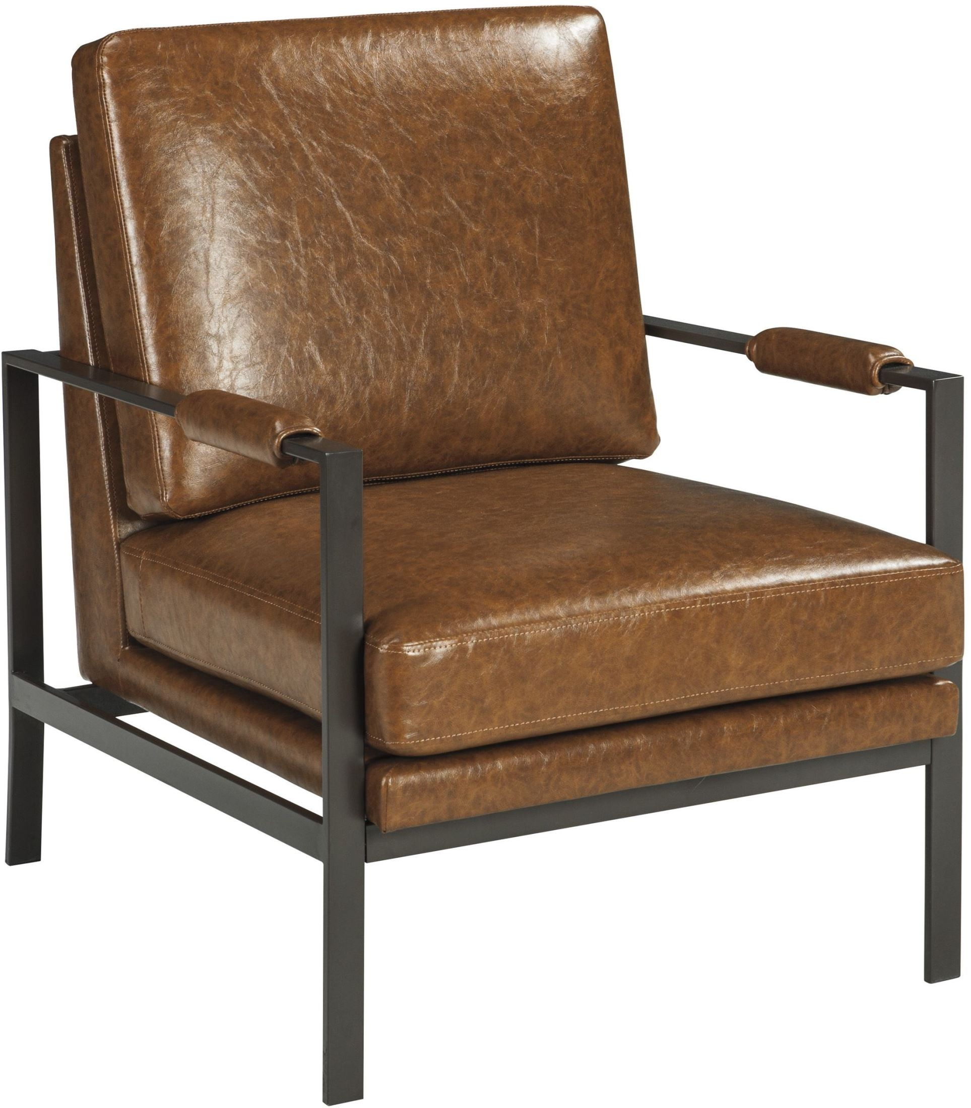 brown accent chairs white spandex chair covers amazon peacemaker from ashley coleman furniture 2324568