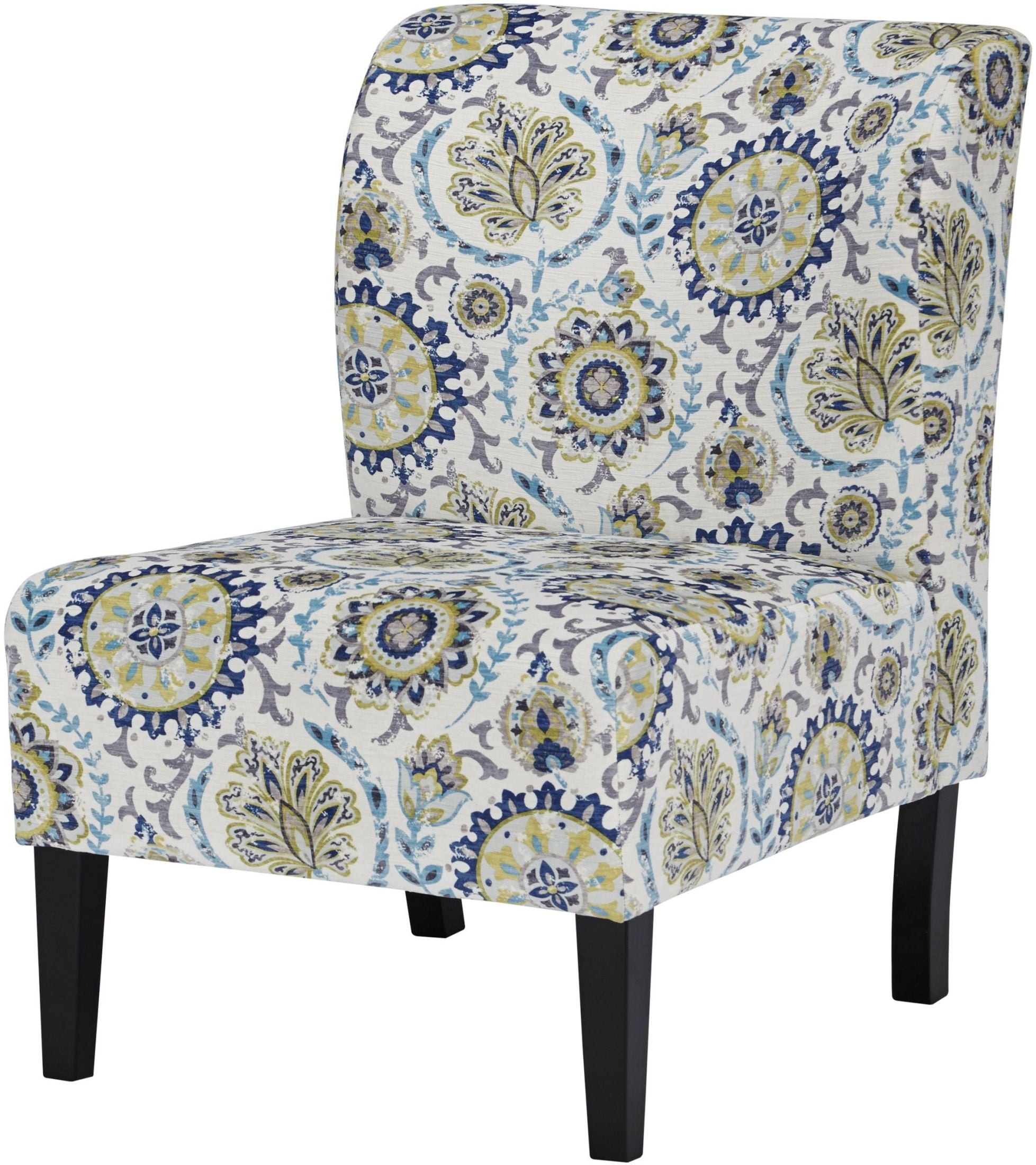 Triptis Blue and Green Accent Chair from Ashley  Coleman