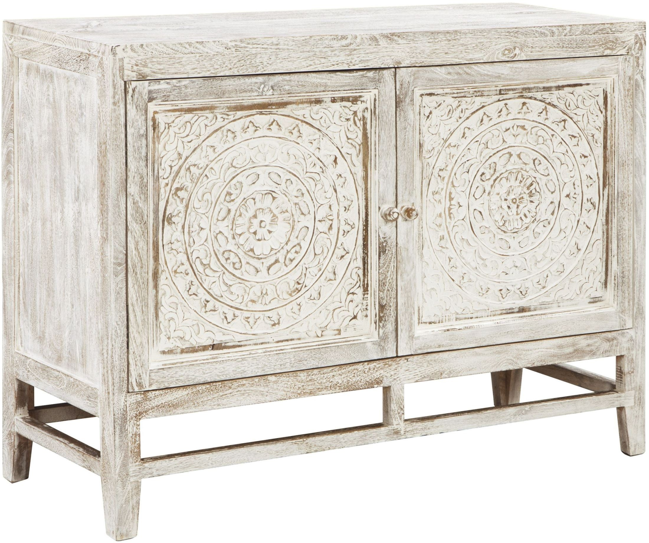 Fossil Ridge Light Brown Door Accent Cabinet From Ashley