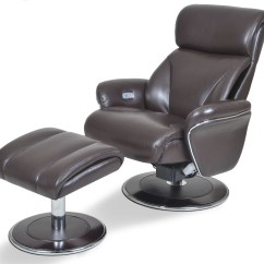 Reclining Chair With Ottoman Leather Jazzy Power Battery Replacement Ergonomic Espresso And From