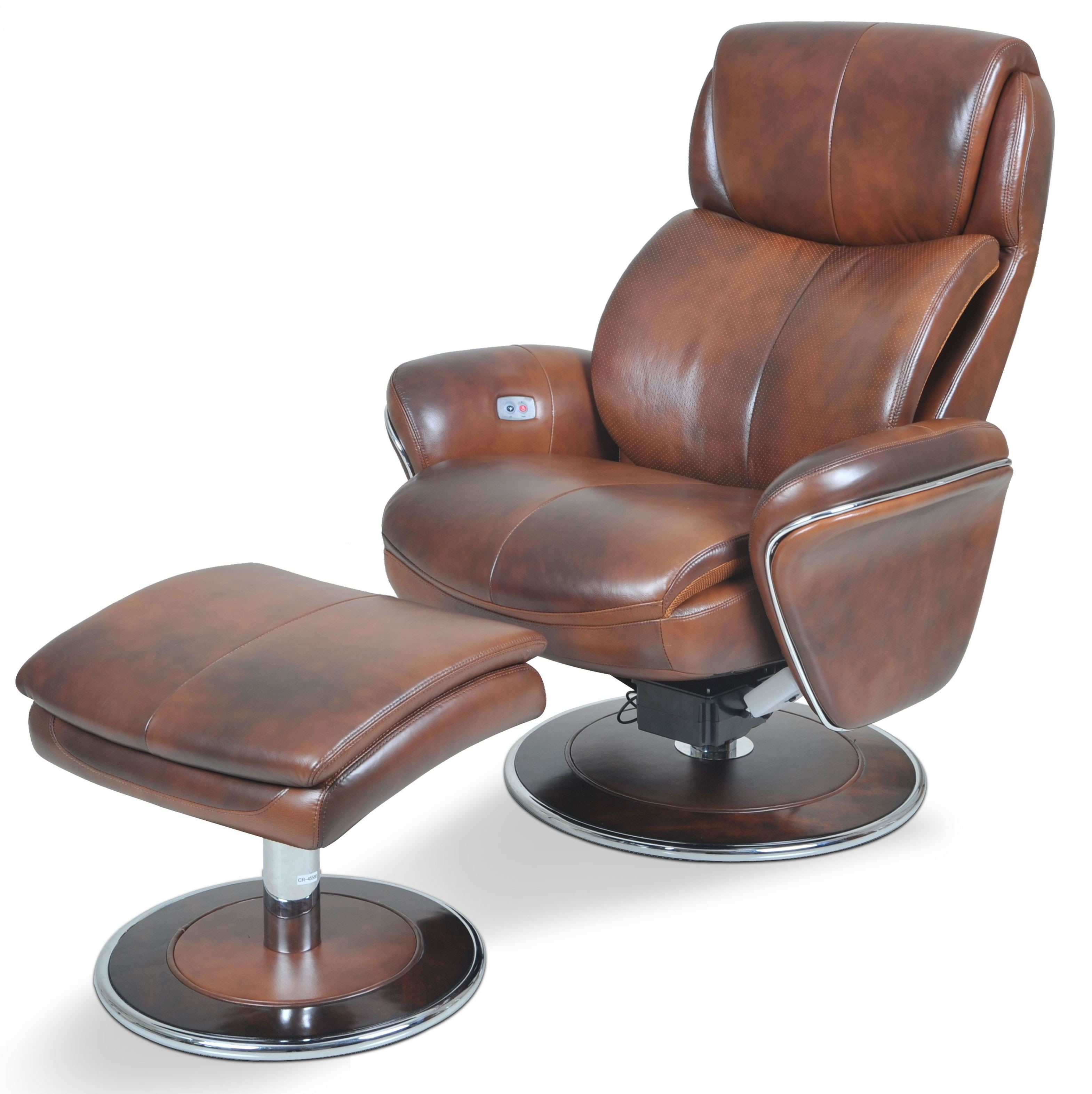 ergonomic chair and ottoman covers on folding chairs leather saddle from cozzia