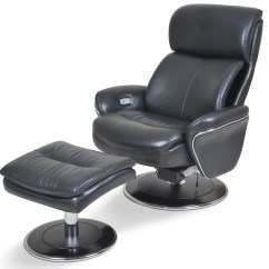Ergonomic Chair And Ottoman Clear Computer Big Man Leather Slate From