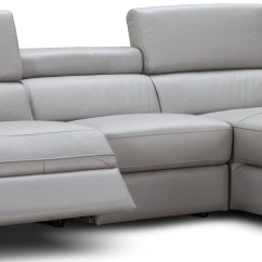 Light Gray Leather Reclining Sofa Sears Ca Tables Alba Premium Power Raf